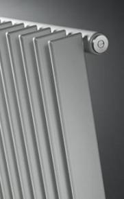 Radiator TULIPA TV1 verticaal, enkel RAL 9016