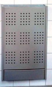 Gaskonvektor muur (gesloten toestel) MUURMODEL