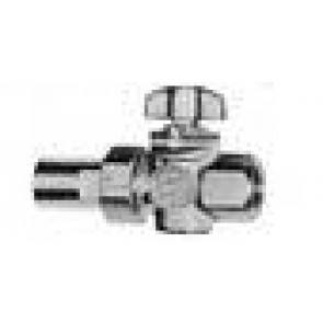 Gaskraan FF + raccord koper (aardgas/propaan)