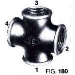 Kruis T-stuk Galva nr 180