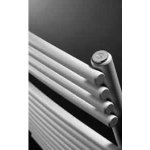 Handdoekdroger AGAVE HRBM gebogen RAL 9016