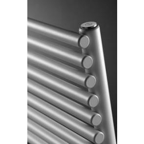 Handdoekdroger AGAVE HRM recht, enkel RAL 9016
