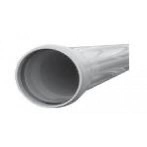 Lengte PVC buis GRIJS ROND van 3 meter (1 x gemoft)