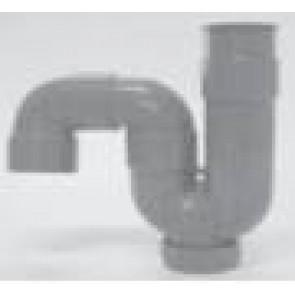 Sifon grijs PVC type S of P