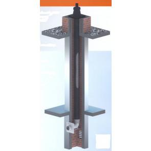 Rookgasafvoermateriaal TwinFlex PP