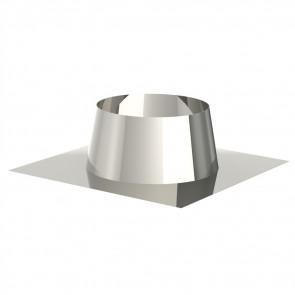 Dakdoorgang 0-5° INOX dubbelw (DDS/II)
