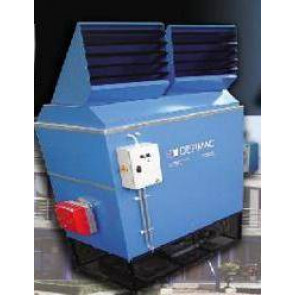 Warme luchtgenerator DERMAC met mazoutbrander (nettoprijzen)